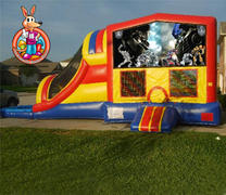 Transformers Module 5 in 1 Waterslide Bouncehouse Combo